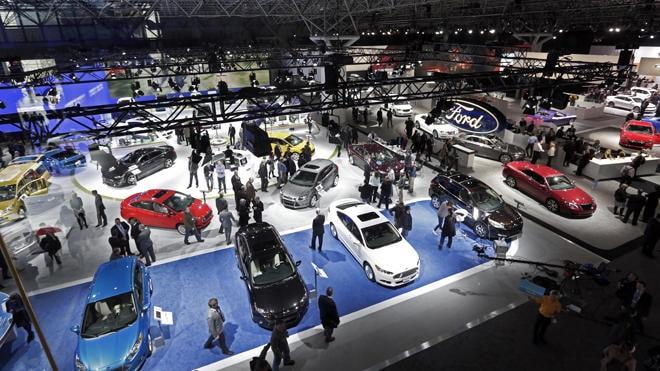 2013 NY Auto Show Ford AP-min