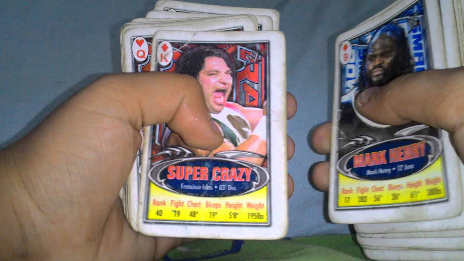 WWE Trump Cards