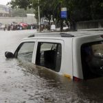 What to do when your car is stuck in a flood!!